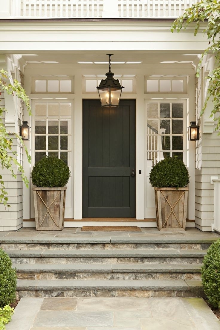 Current Outdoor Lanterns For Front Porch Inside Decorating With Outdoor Lanterns, Patio Furniture, Plants And The (View 2 of 20)