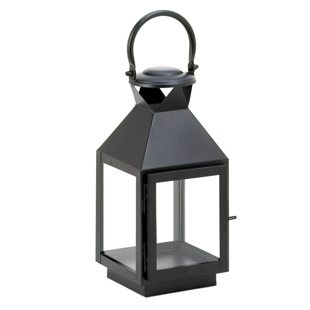 Current Outdoor Rustic Lanterns Regarding Candle Lantern Decor, Iron Outdoor Rustic Decorative Black Candle (Gallery 16 of 20)