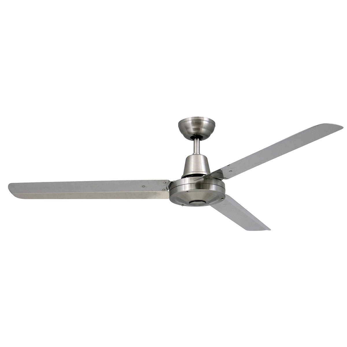 """Current Stainless Steel Outdoor Ceiling Fans For Vector 52"""" Ceiling Fan With Ezy Fit Blades – Brilliant Lighting (View 9 of 20)"""