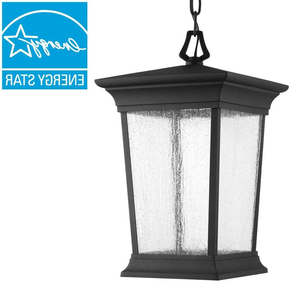 Current Xl Outdoor Lanterns In Outdoor Hanging Lights – Outdoor Ceiling Lighting – The Home Depot (Gallery 14 of 20)
