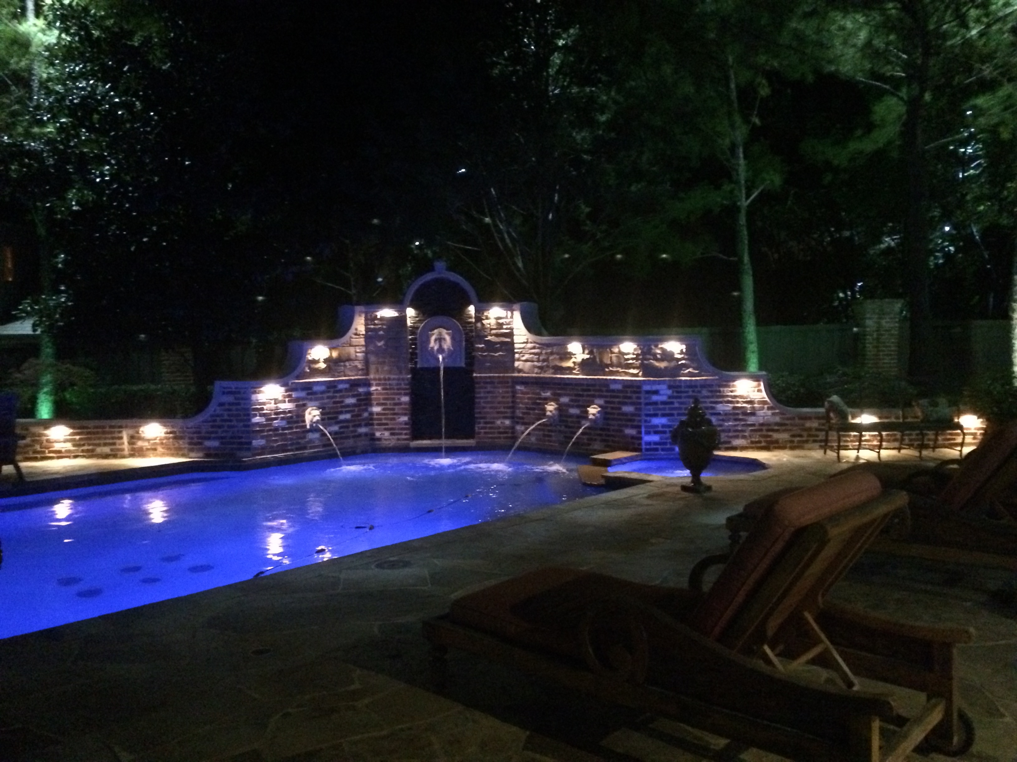 Dallas Landscape Lighting In Outdoor Lanterns For Poolside (View 2 of 20)