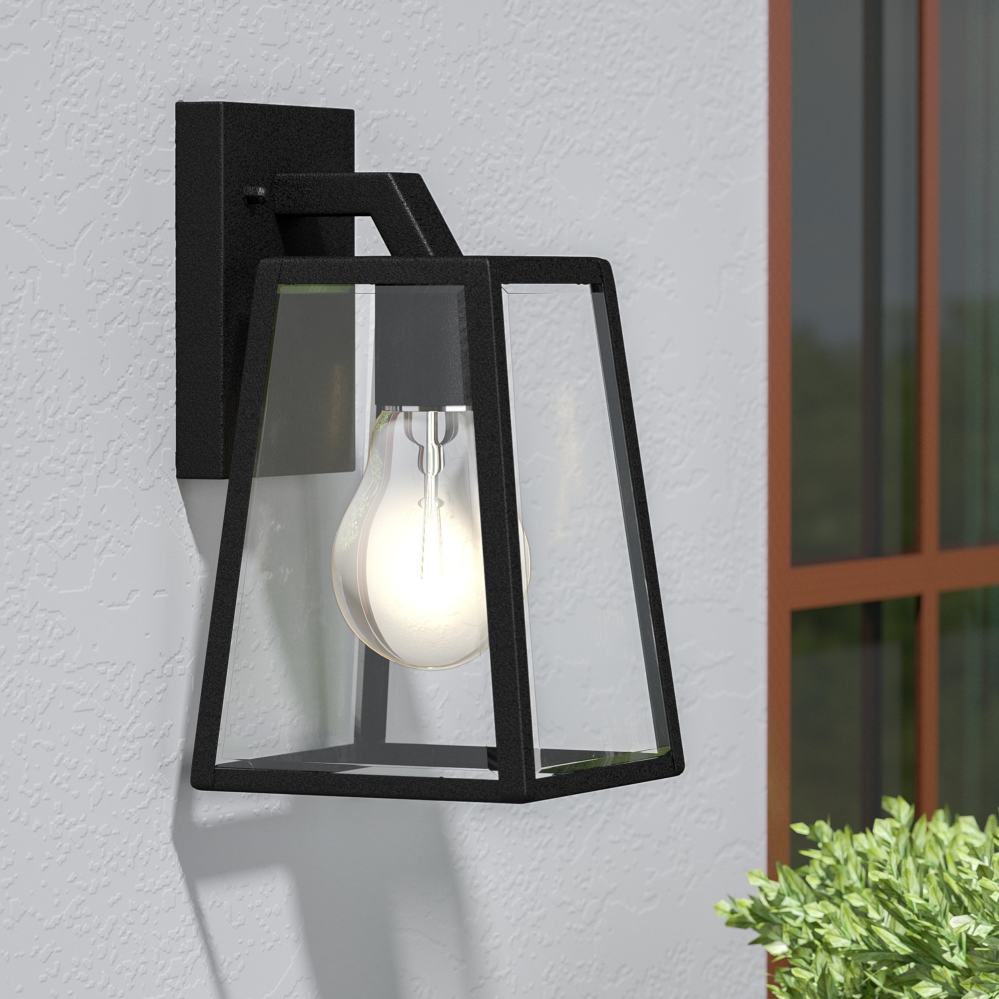 Darby Home Co Wyndham 1 Light Outdoor Wall Lantern & Reviews (Gallery 18 of 20)