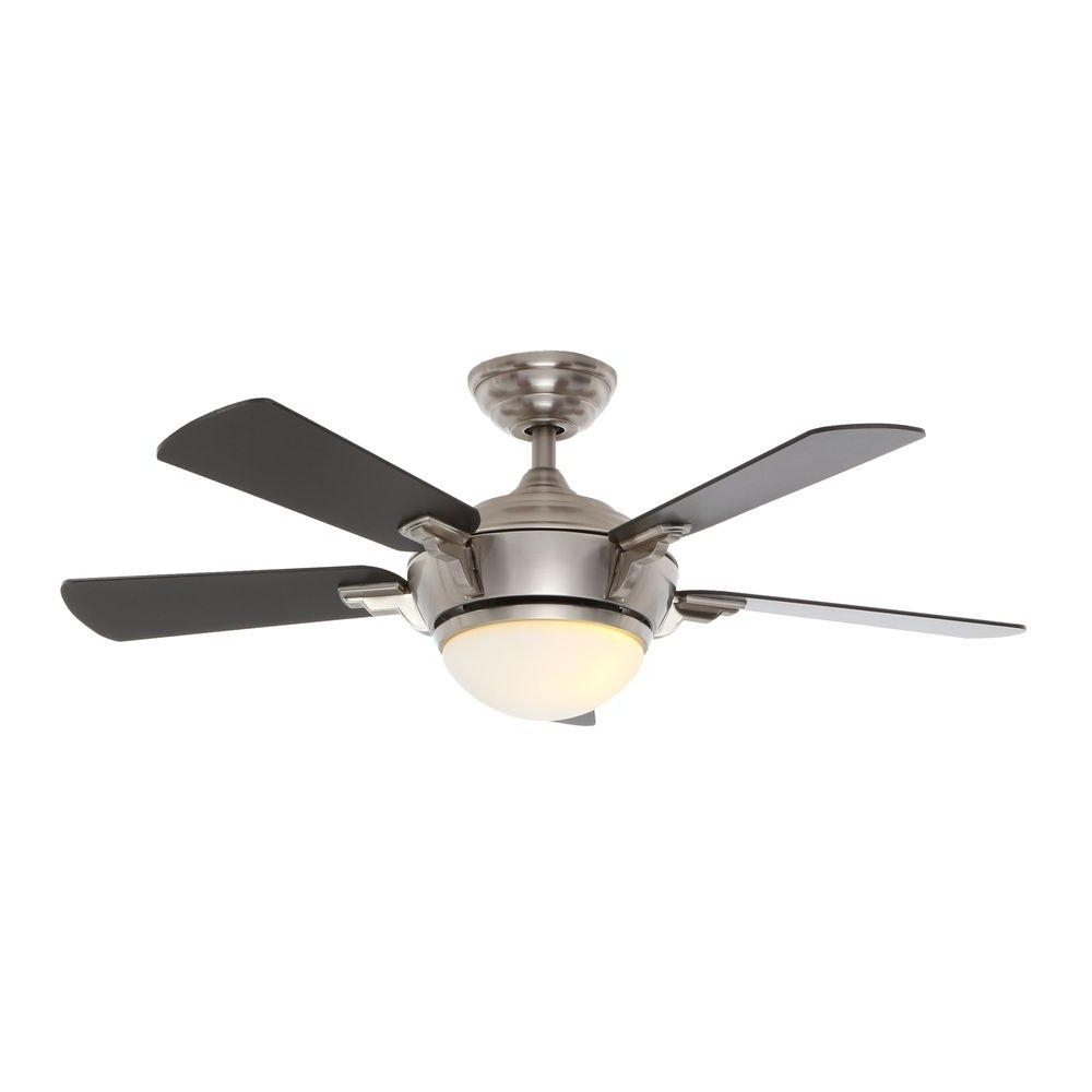 Decor: Stylish Hampton Bay Ceiling Fans For Home Decor Throughout Most Recent Hampton Bay Outdoor Ceiling Fans With Lights (View 14 of 20)