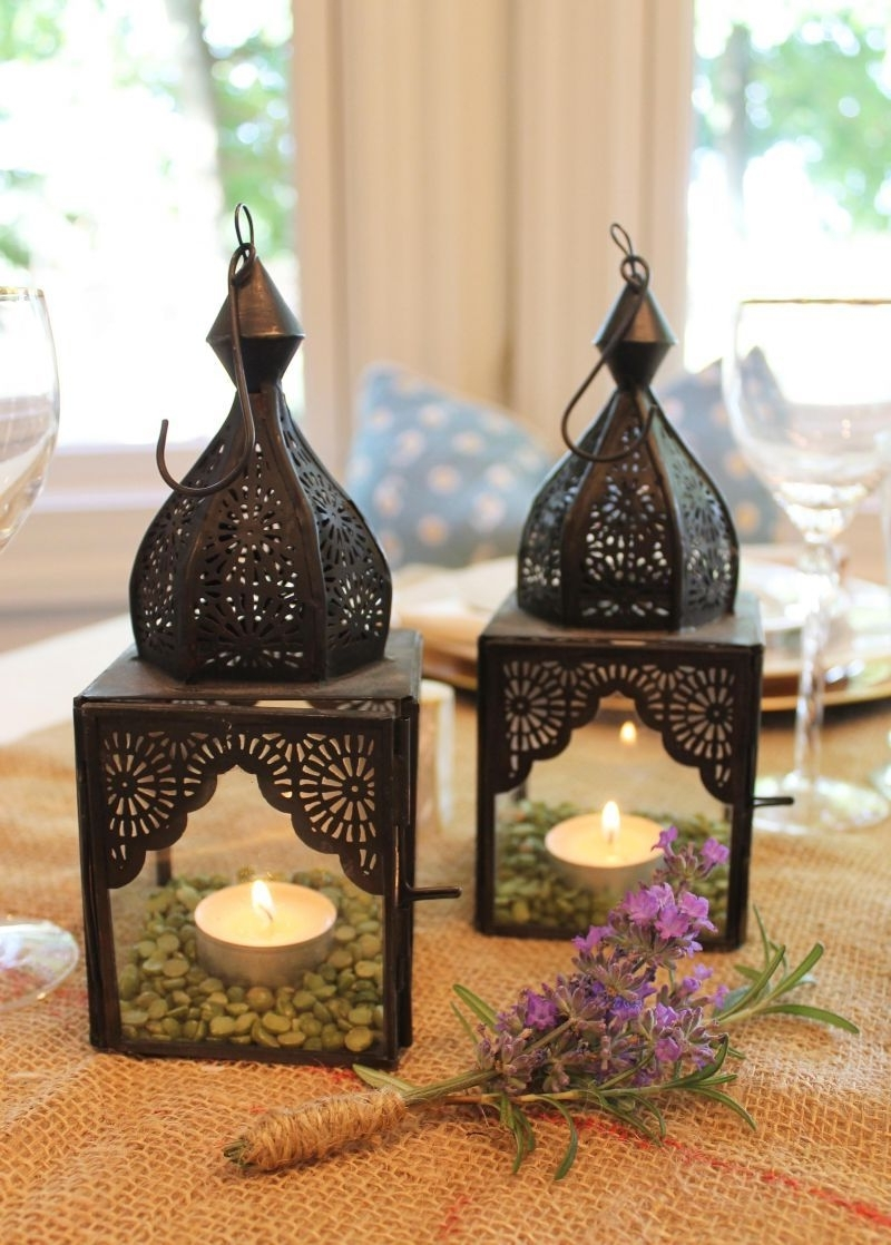 Decorate With Moroccan Lanterns For Easy Tables Cape (View 2 of 20)