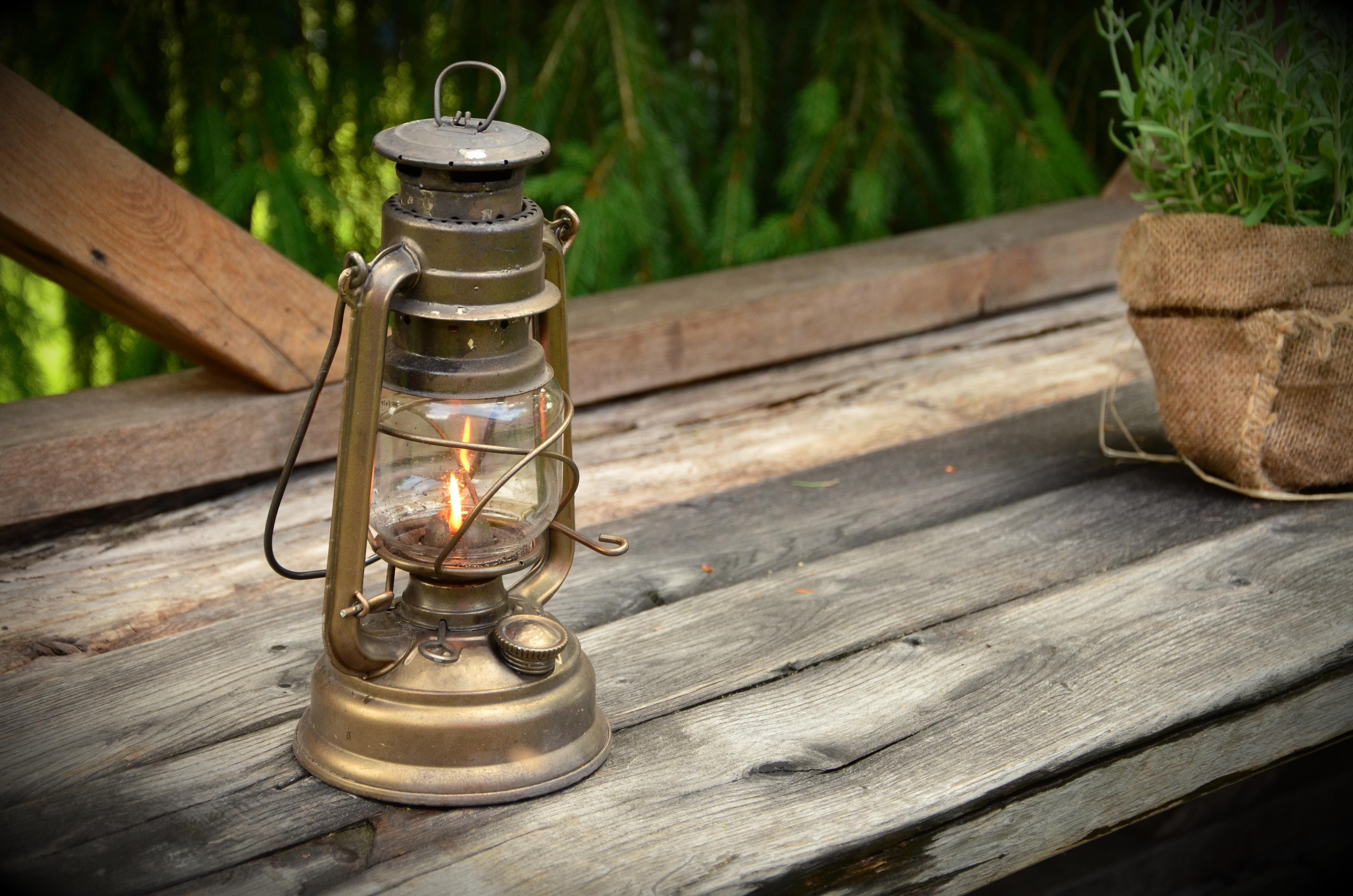 Decorative Outdoor Kerosene Lanterns Inside Preferred Free Images : Wood, Decoration, Lantern, Metal, Garden, Lighting (View 10 of 20)