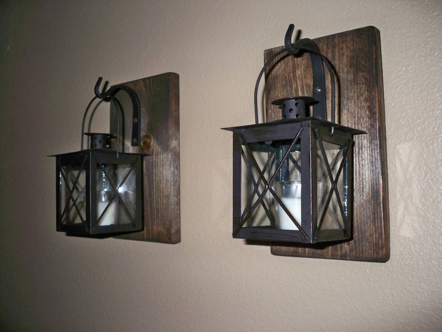 Decorative Outdoor Wall Art Large Wrought Iron Key Decor Sconces Regarding Most Recently Released Etsy Outdoor Lanterns (View 11 of 20)