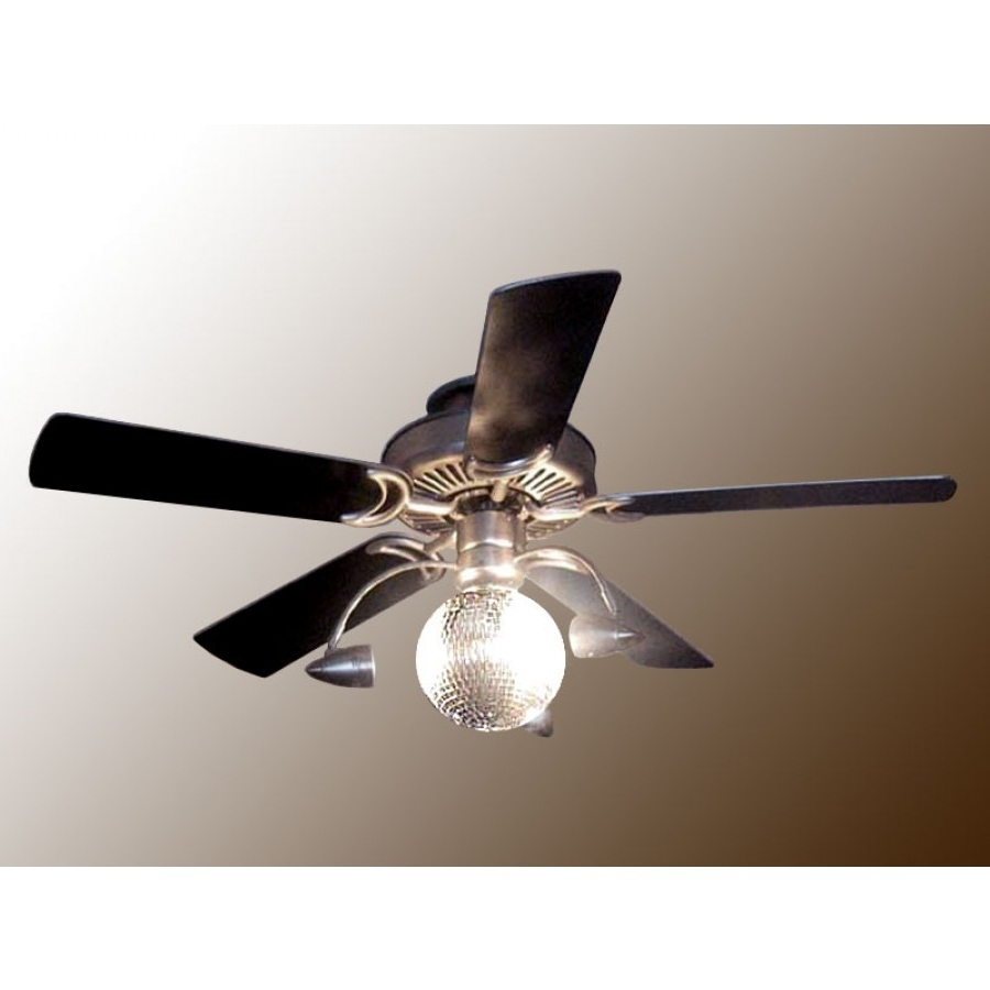 Disco Ball Ceiling Fan – Funkytown Within Well Known Outdoor Ceiling Fans Under $ (View 3 of 20)