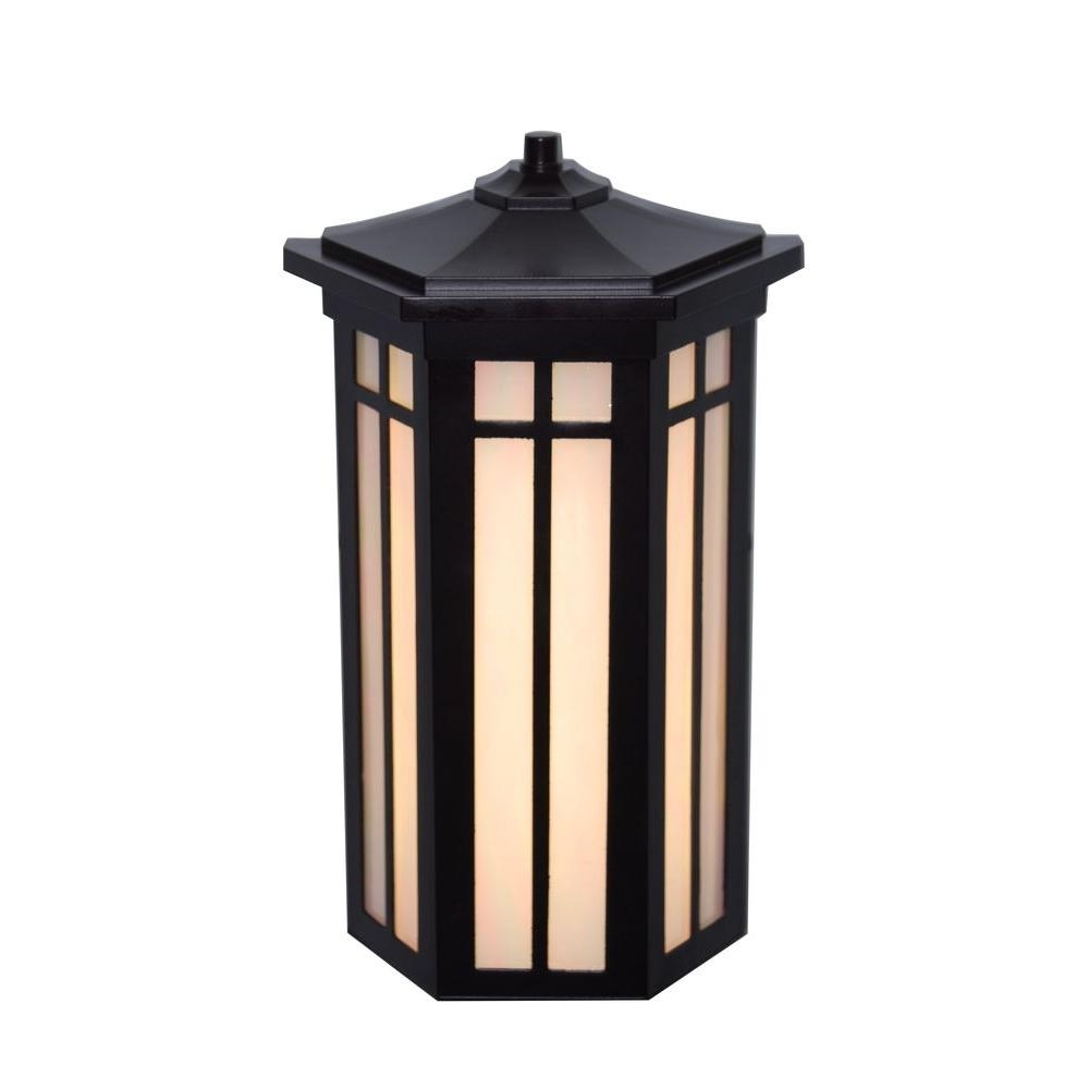 Dusk To Dawn – Black – Outdoor Wall Mounted Lighting – Outdoor Throughout Favorite Led Outdoor Lanterns (View 9 of 20)