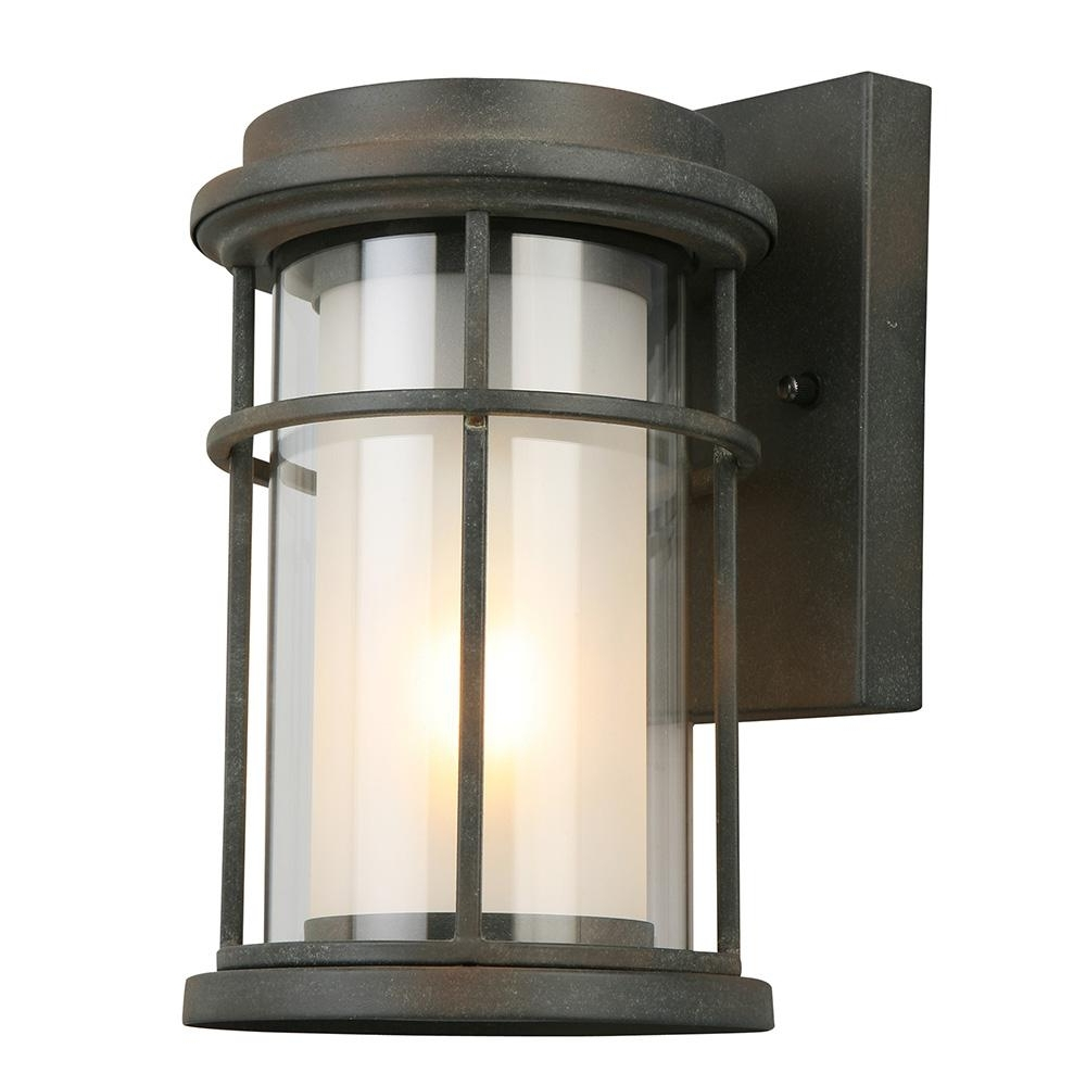 Eglo Helendale 1 Light Zinc Outdoor Wall Mount Lantern 203023a – The With Regard To Most Current Zinc Outdoor Lanterns (View 5 of 20)