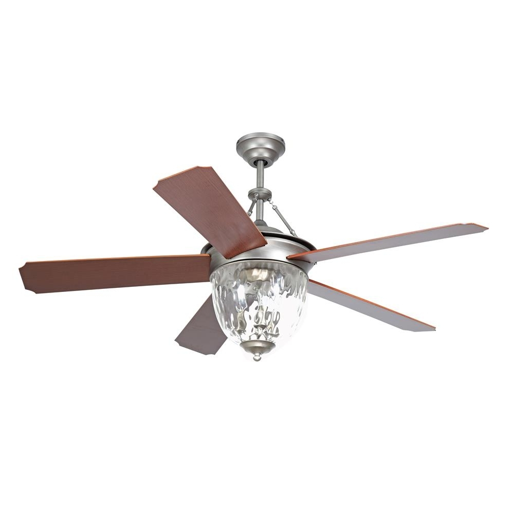 "Ellington Outdoor Ceiling Fans Pertaining To Recent Cav52pt5lk – Craftmade Cav52pt5lk Cavalier 52"" Ceiling Fan In (View 5 of 20)"