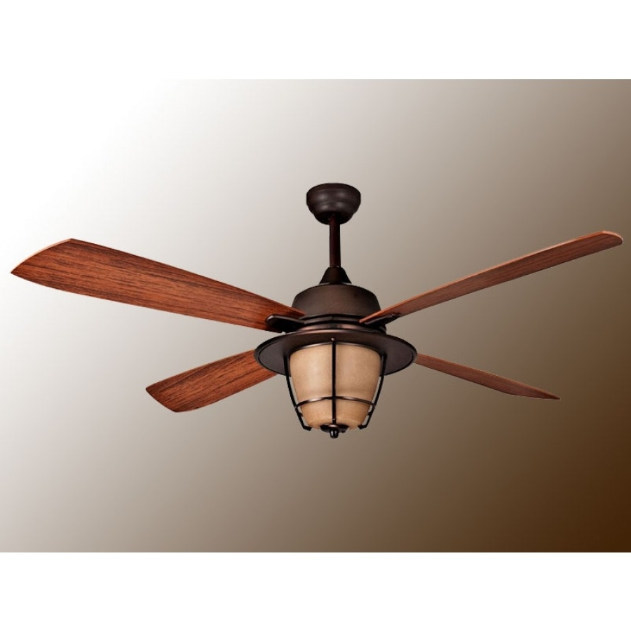 Ellington Outdoor Ceiling Fans Throughout Favorite Morrow Bayellington – Wet Rated Outdoor Ceiling Fan (View 10 of 20)