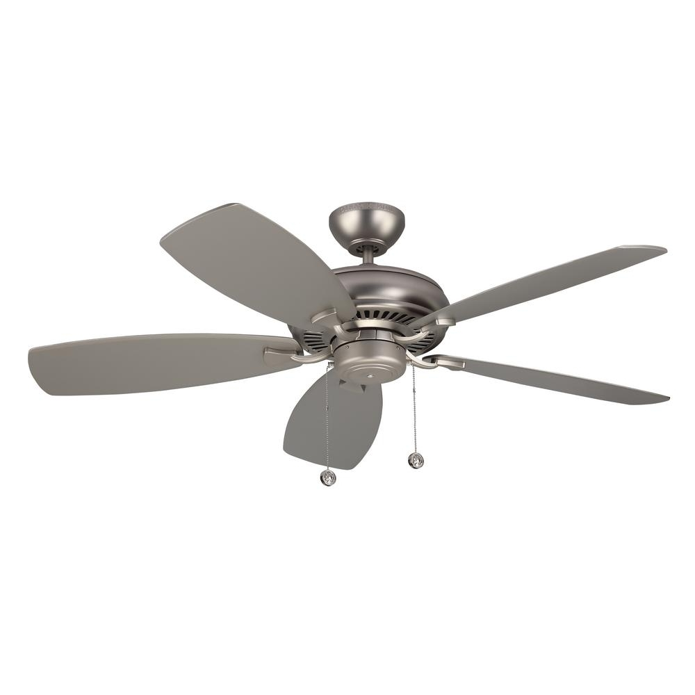 Ellington Outdoor Ceiling Fans Within 2019 Monte Carlo Light Cast Max 52 In (View 11 of 20)