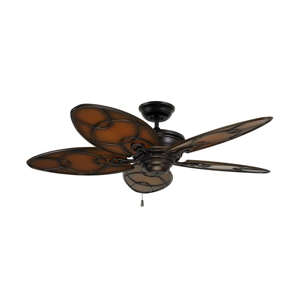 Emerson Outdoor Ceiling Fans With Lights Regarding Most Recent Cf380Vnb – Emerson Cf380Vnb Kailua Cove Indoor/outdoor Ceiling Fan (Gallery 11 of 20)
