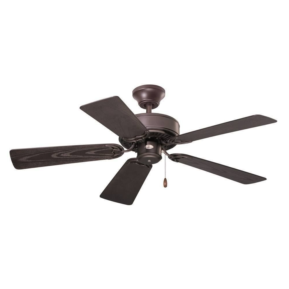 Emerson Summer Night 42 Inch Oil Rubbed Bronze Traditional Indoor Throughout 2019 Traditional Outdoor Ceiling Fans (View 4 of 20)
