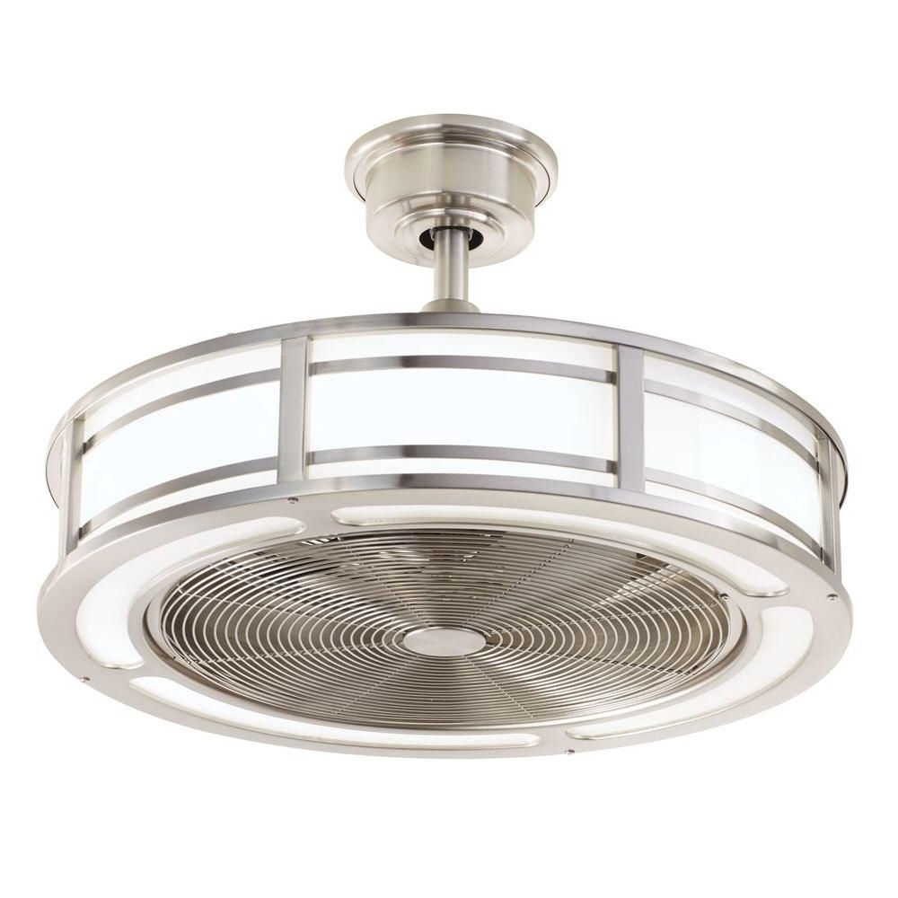 Enclosed Outdoor Ceiling Fans In Well Liked Home Decorators Collection Brette 23 In (View 5 of 20)