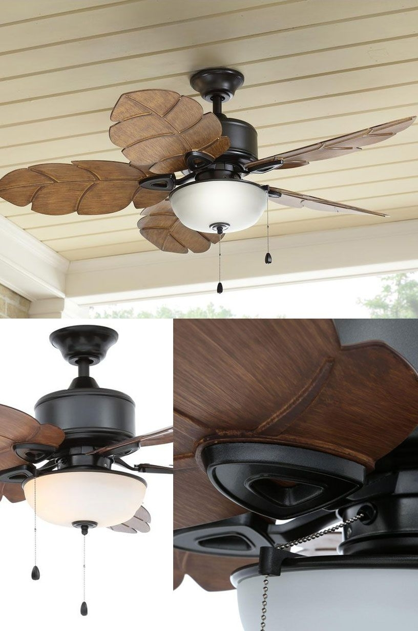Expensive Outdoor Ceiling Fans For Famous The Perfect Indoor – Outdoor Ceiling Fan And Light (View 5 of 20)