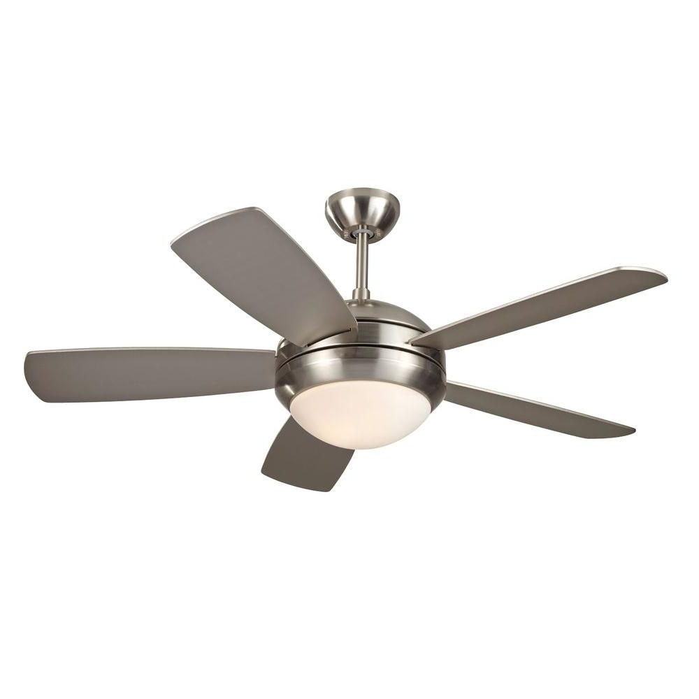 Expensive Outdoor Ceiling Fans Pertaining To Current Monte Carlo Discus Ii 44 In (View 9 of 20)
