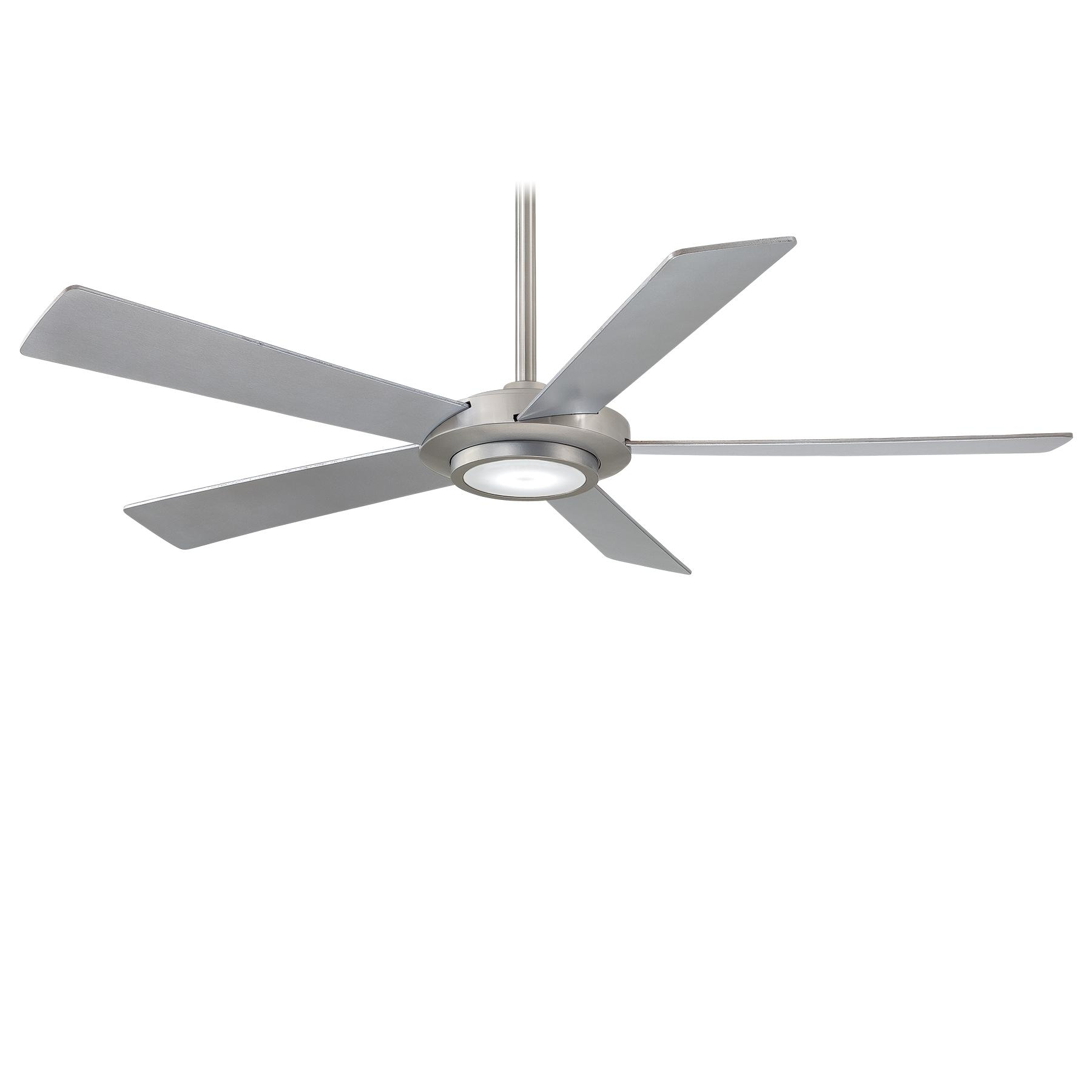 F745 Bn In Fashionable Grey Outdoor Ceiling Fans (View 14 of 20)