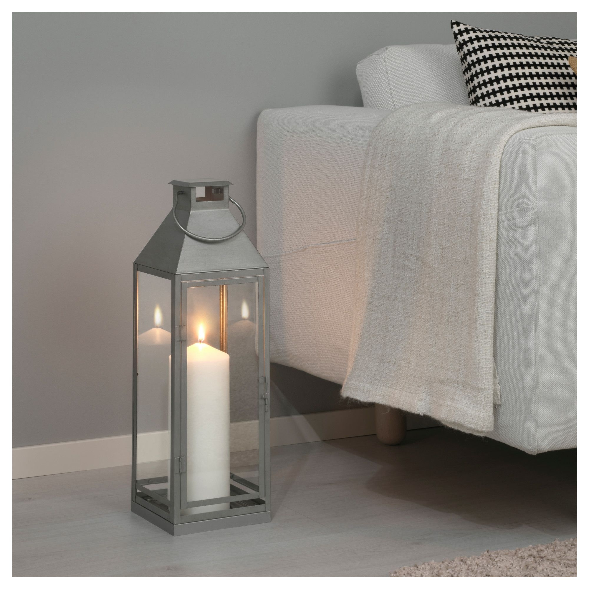 Famous Ikea Outdoor Lanterns For Ikea Lagrad Lantern F Block Candle, In/outdoor Suitable For Both (View 3 of 20)
