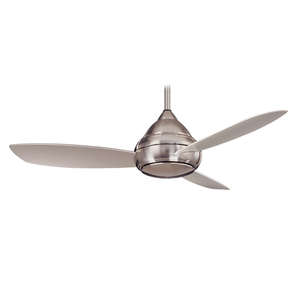 Famous Minka Aire Outdoor Ceiling Fans With Lights Throughout Concept I Wet Outdoor Ceiling Fanminka Aire Fans – F476L Bnw (View 6 of 20)