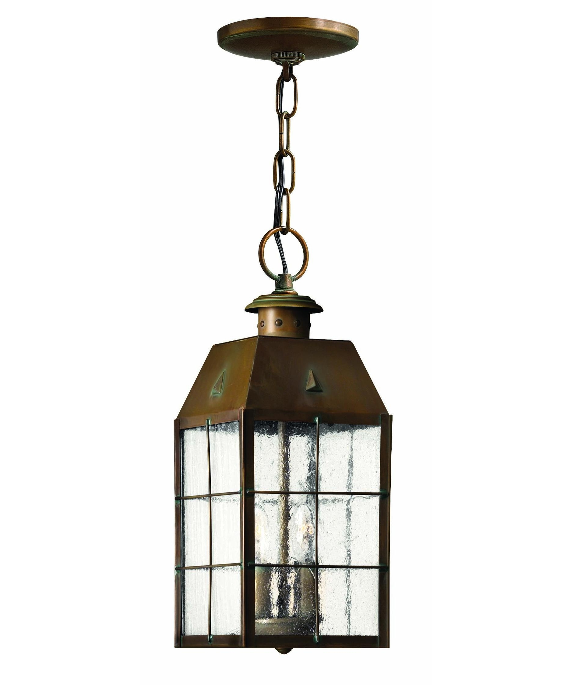 Famous Nantucket Outdoor Lanterns For Hinkley Lighting 2372 Nantucket 6 Inch Wide 2 Light Outdoor Hanging (View 3 of 20)