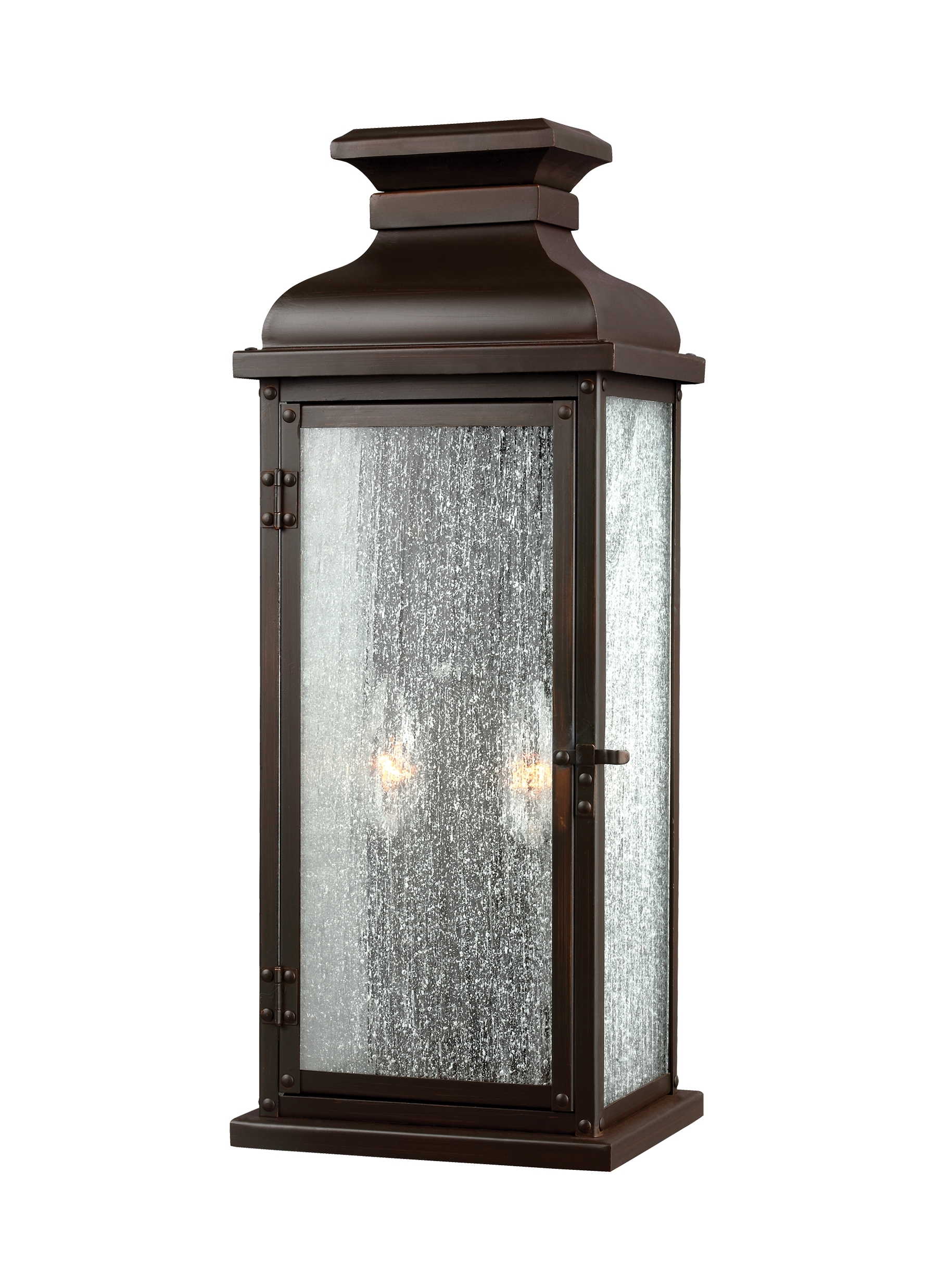 Famous Ol11101dac,2 – Light Outdoor Sconce,dark Aged Copper In Italian Outdoor Lanterns (View 3 of 20)