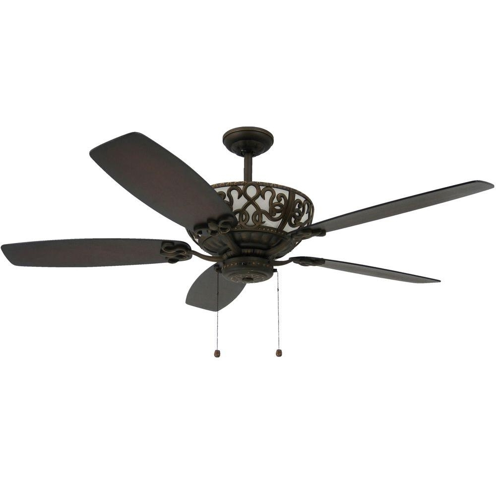 Famous Outdoor Ceiling Fans With Uplights Throughout Troposair Excalibur 60 In (View 4 of 20)