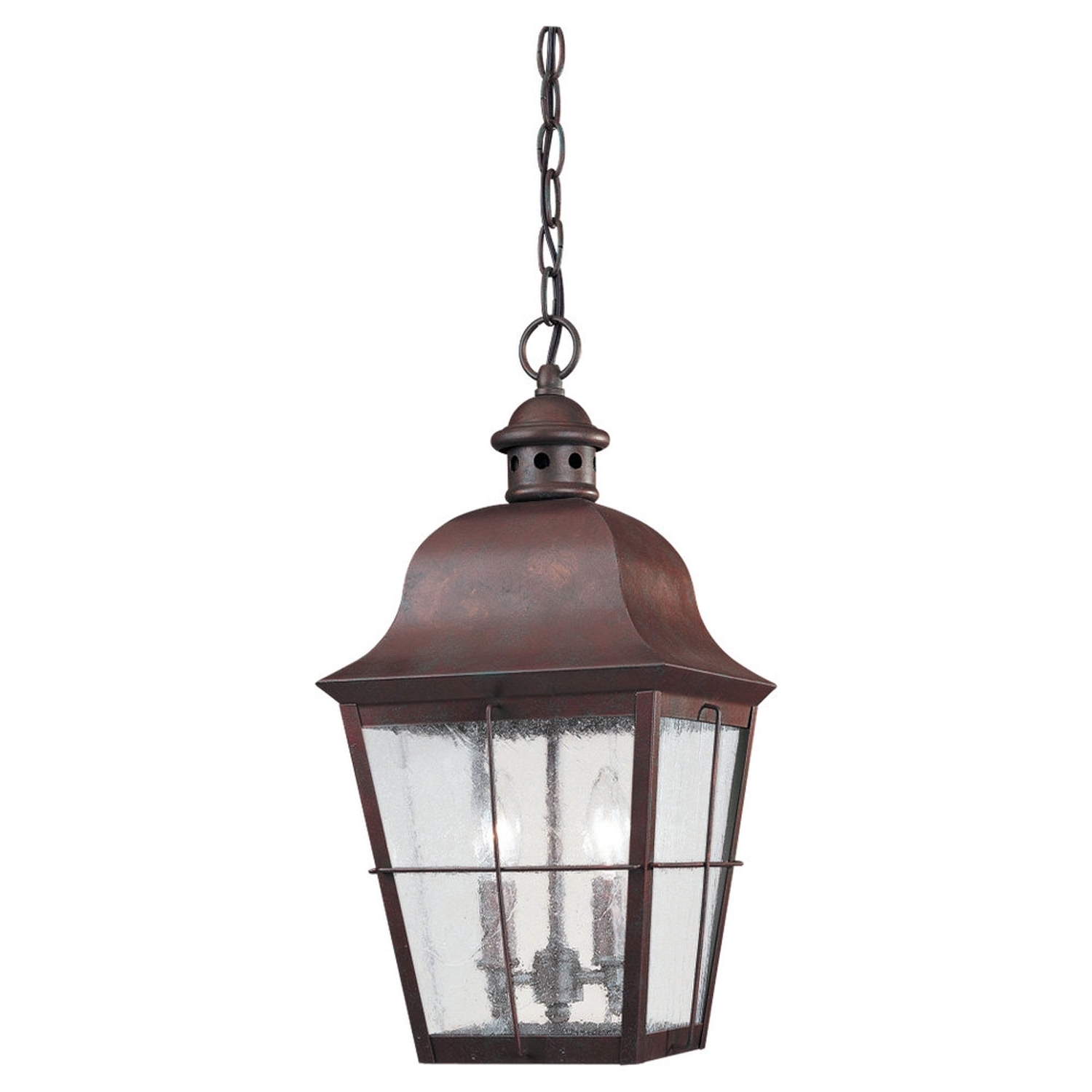 Famous Sea Gull Lighting Colonial Copper Outdoor Hanging Lantern 6062 44 Regarding Led Outdoor Hanging Lanterns (View 5 of 20)