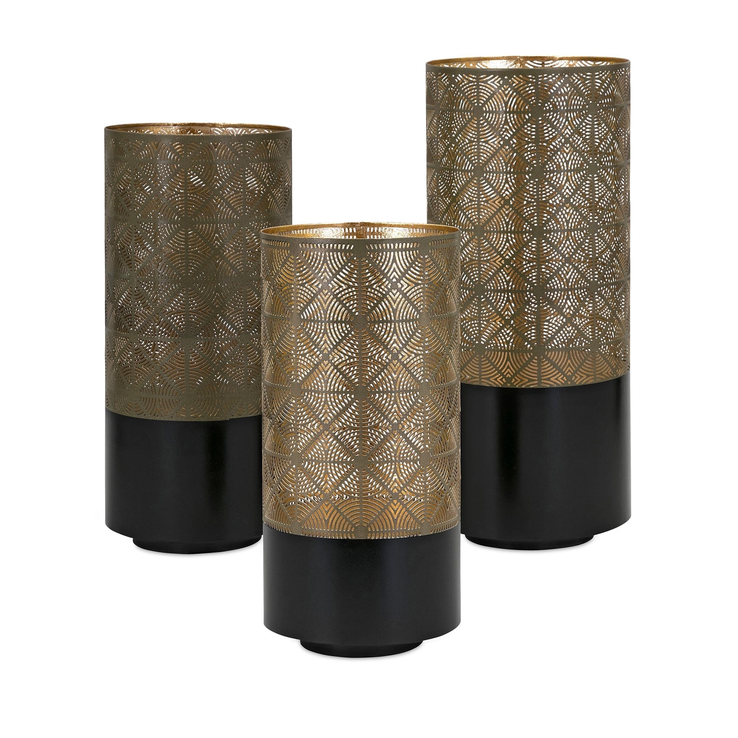 Famous Set Of 3 Outdoor Lanterns In Manhattan Pierced Outdoor Lanterns (Set Of 3) – Free Shipping Today (View 13 of 20)