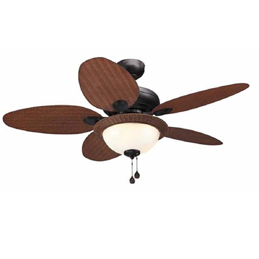 Famous Shop Litex Tilghman 44 In Bronze Indoor/outdoor Ceiling Fan With Within Brown Outdoor Ceiling Fan With Light (View 12 of 20)
