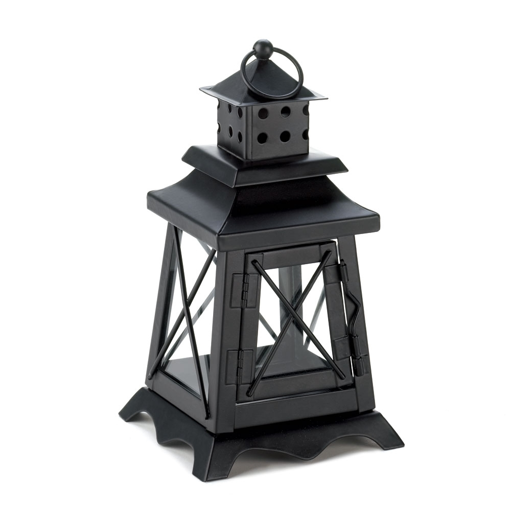 Fashionable Candle Lanterns Decorative, Black Metal Hanging Candle Lantern For In Outdoor Hanging Lanterns For Candles (View 5 of 20)