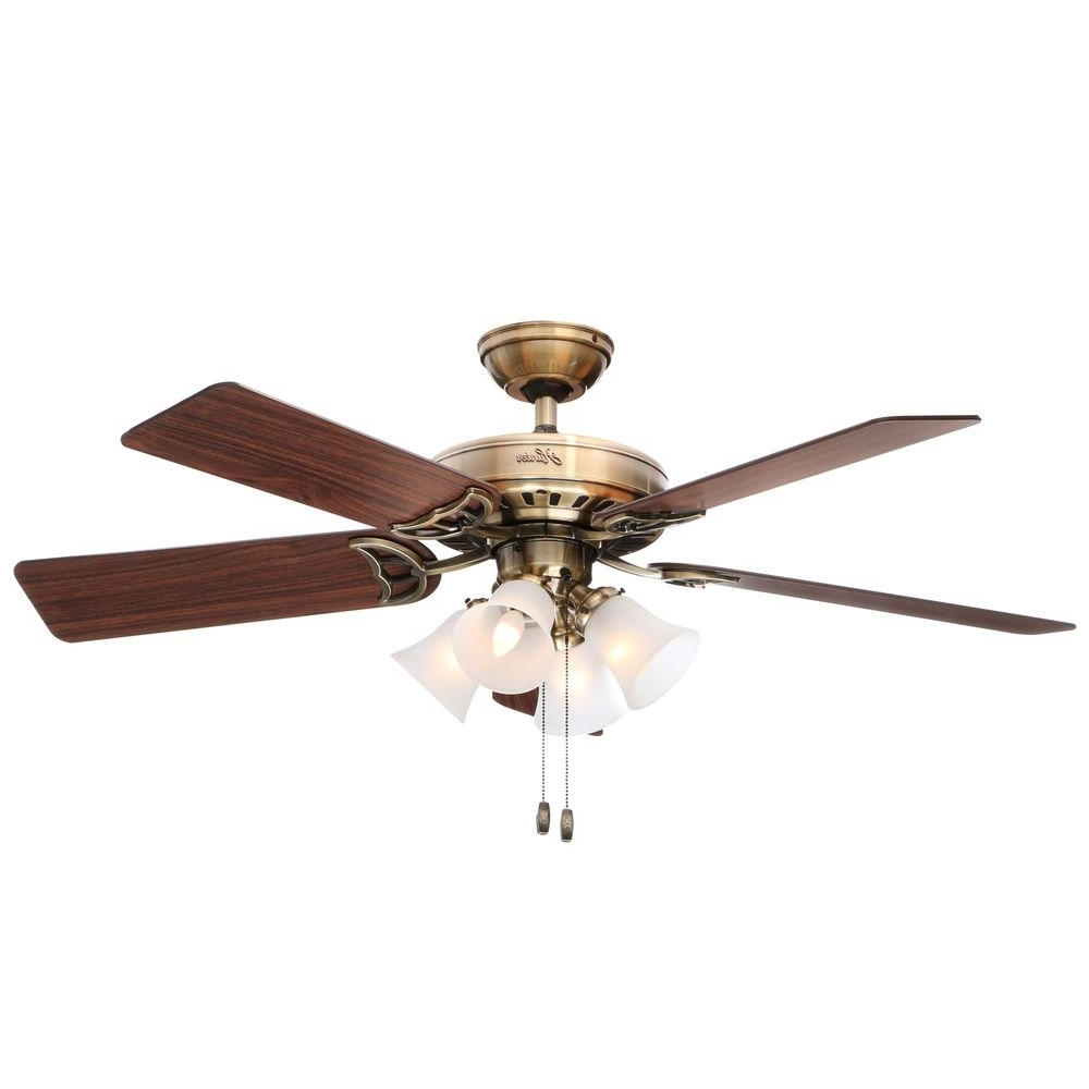 Fashionable Dual Outdoor Ceiling Fans With Lights For Hunter Studio Series 52 In (View 16 of 20)