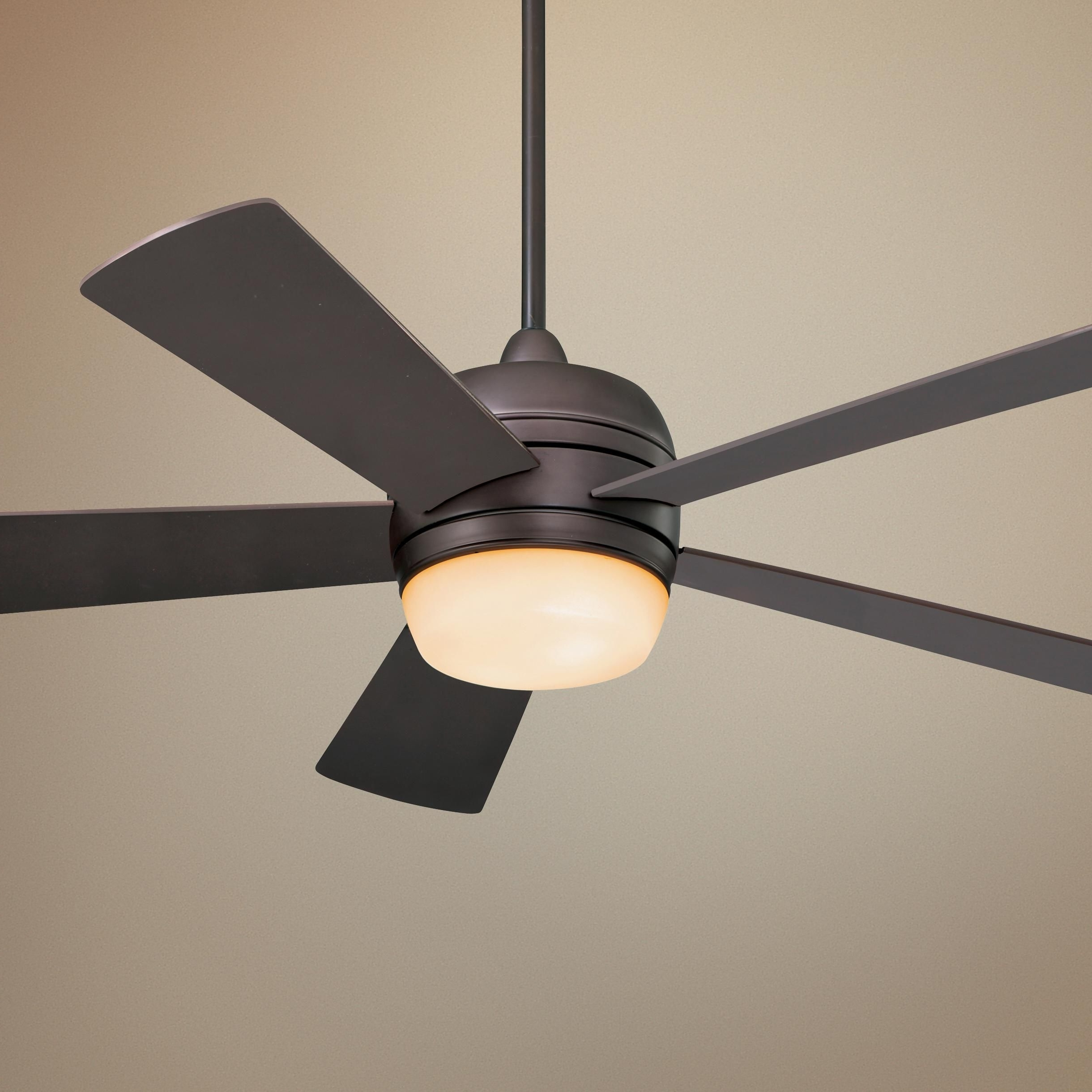 "Fashionable Emerson Outdoor Ceiling Fans With Lights Within 52"" Emerson Atomical Oil Rubbed Bronze Ceiling Fan – #glo #lampsplus (View 13 of 20)"