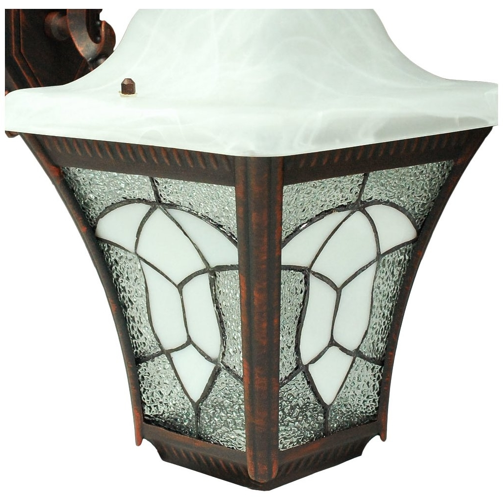 Fashionable Etoplighting Meyda Tiffany Collection Exterior Outdoor Stained Glass Pertaining To Outdoor Mosaic Lanterns (View 7 of 20)