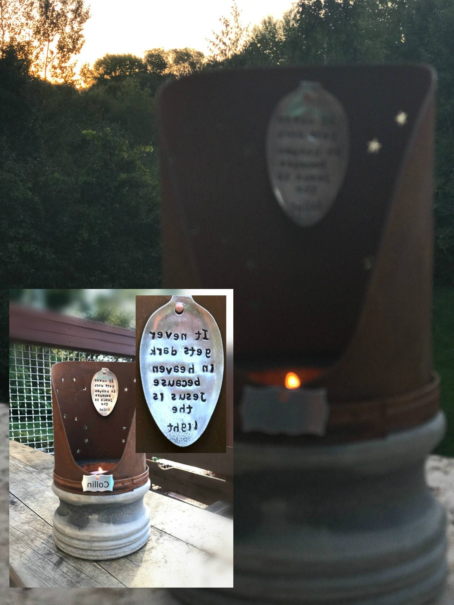 Fashionable Memorial Lantern Vintage Inspired Eternal Light Candle Gift Indoor In Outdoor Memorial Lanterns (View 11 of 20)