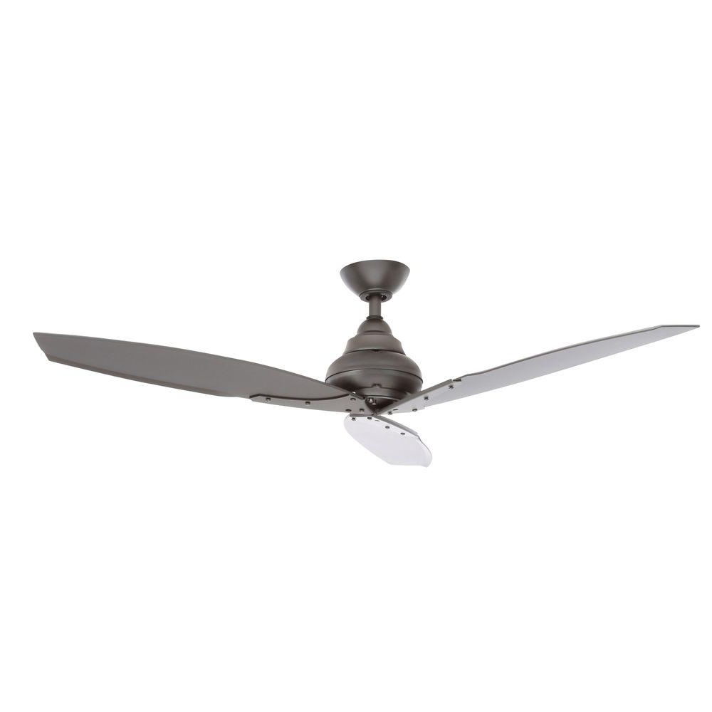 Fashionable Outdoor Ceiling Fans Under $75 Pertaining To Rustic – Ceiling Fans – Lighting – The Home Depot (View 3 of 20)