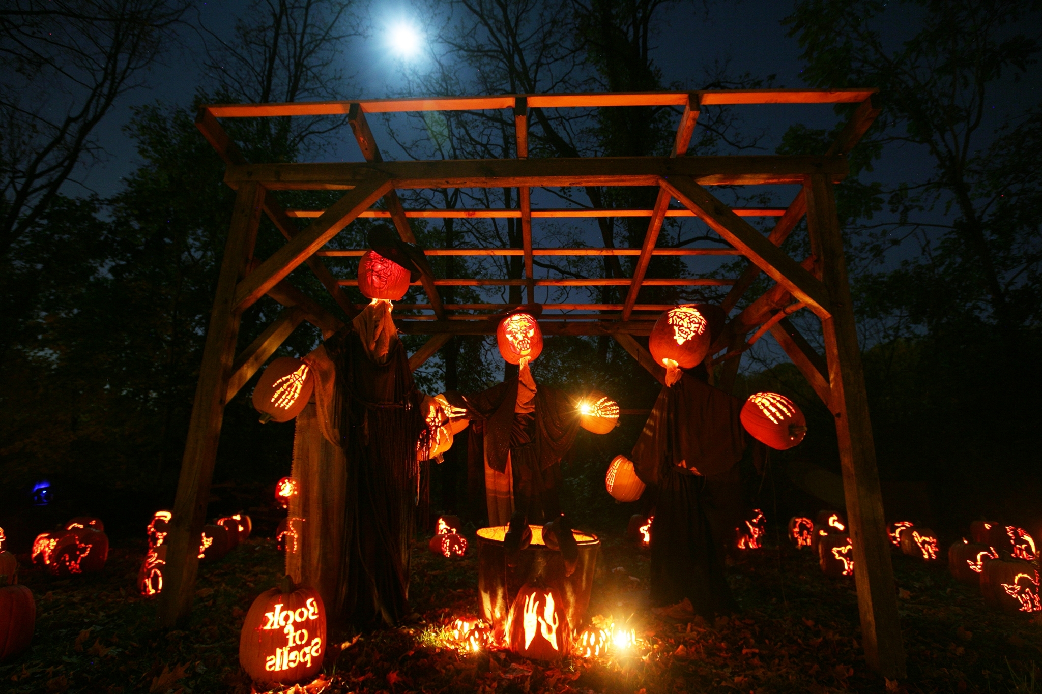 Fashionable Outdoor Halloween Lanterns For Outdoor Halloween Party Ideas For Adults At Modern Home Design Ideas (View 11 of 20)