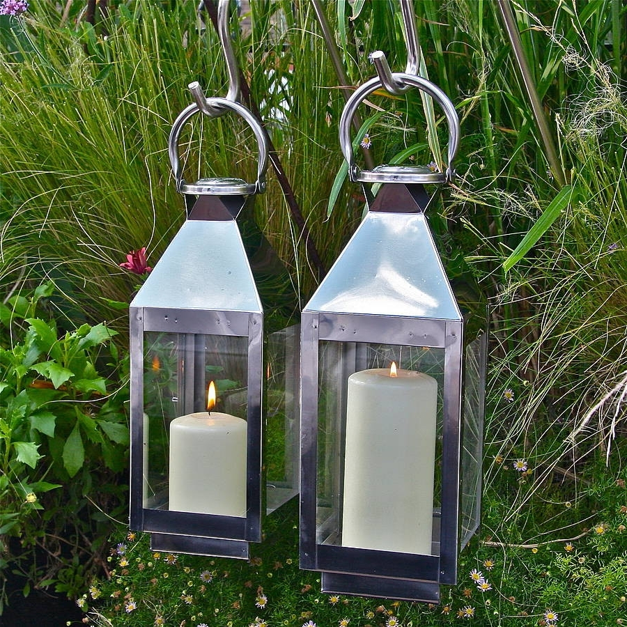 Fashionable Outdoor Lanterns At Argos Intended For Garden Lanterns Lights For Sale Uk Solar Argos Sydney Amazon Ideas (View 7 of 20)