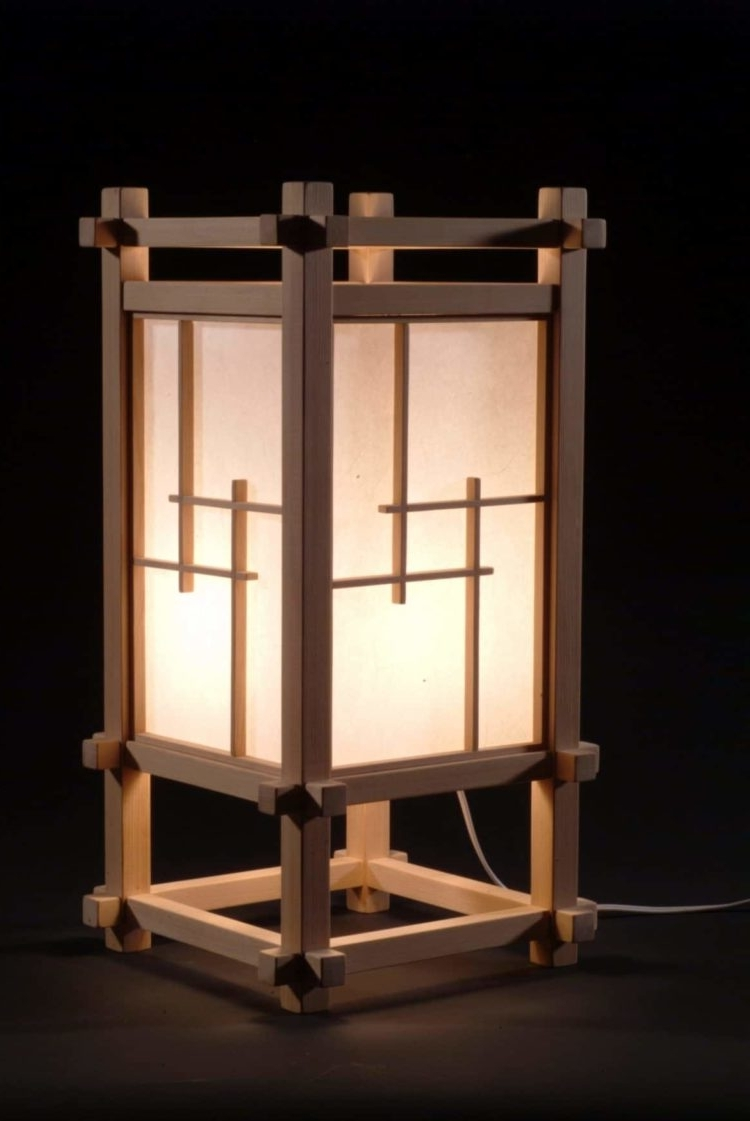 Fashionable Outdoor Lighting Japanese Lanterns Within Selection Of 10 Japanese Lamps • Id Lights (View 19 of 20)