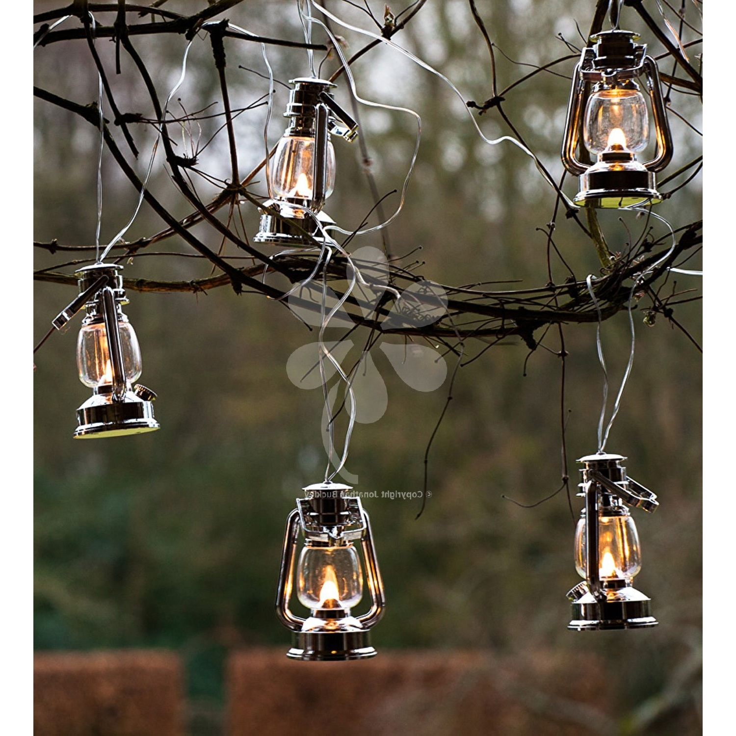 Fashionable Outdoor Mains Lanterns With Plastic Lanterns Outdoor Lights 8 Lantern On A Light Chain Mains (View 3 of 20)