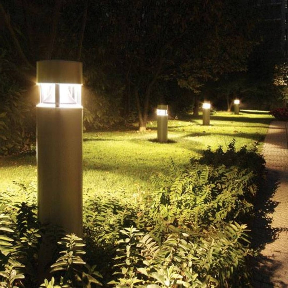 Fashionable Patio String Light Pole Lovely 24 Ft 12 Bulb Outdoor Lights Post For Throughout Outdoor Lanterns On Post (View 17 of 20)