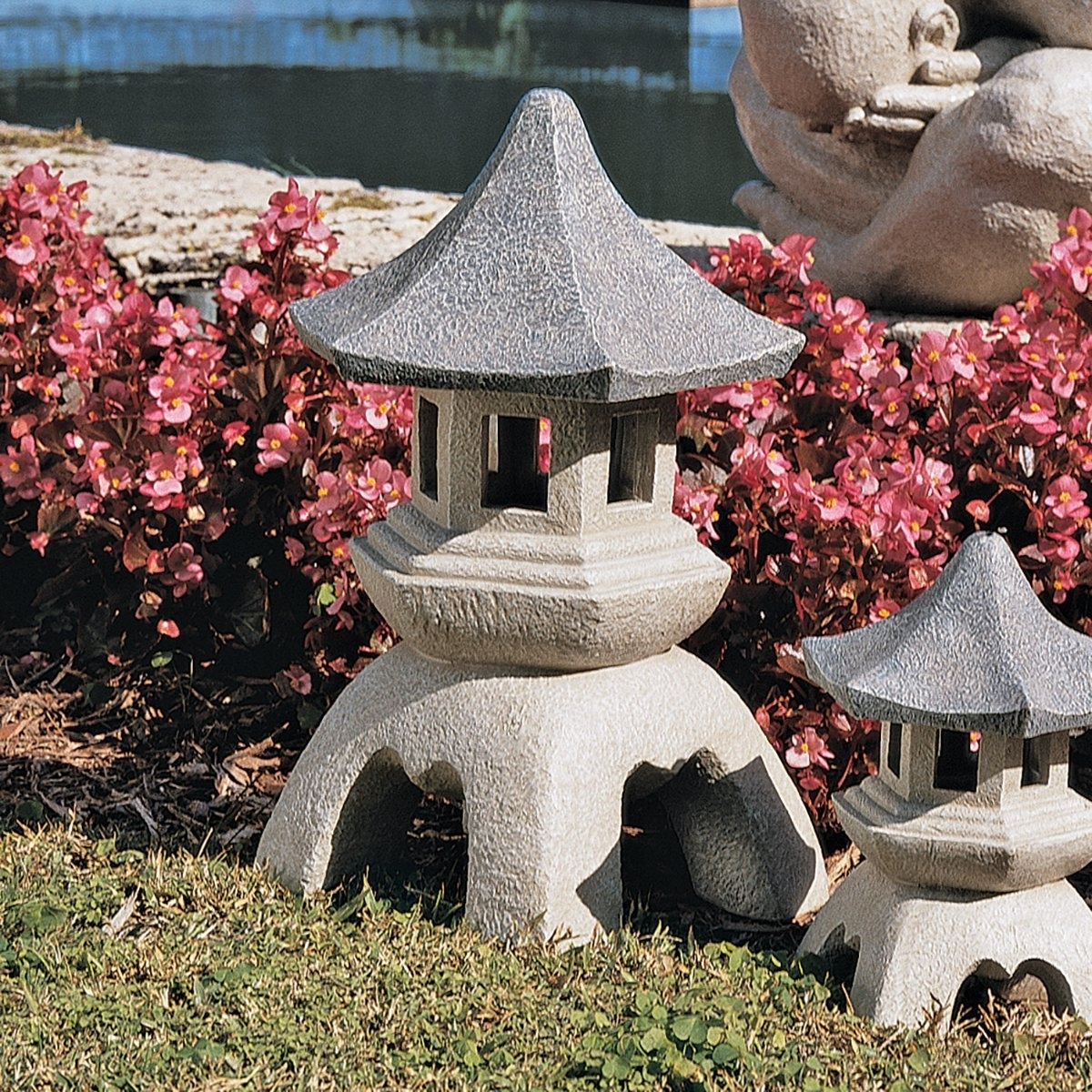 Favorite 4 Cheap Outdoor Japanese Garden Lanterns For Sale – Homelilys Decor Inside Outdoor Japanese Lanterns For Sale (View 5 of 20)