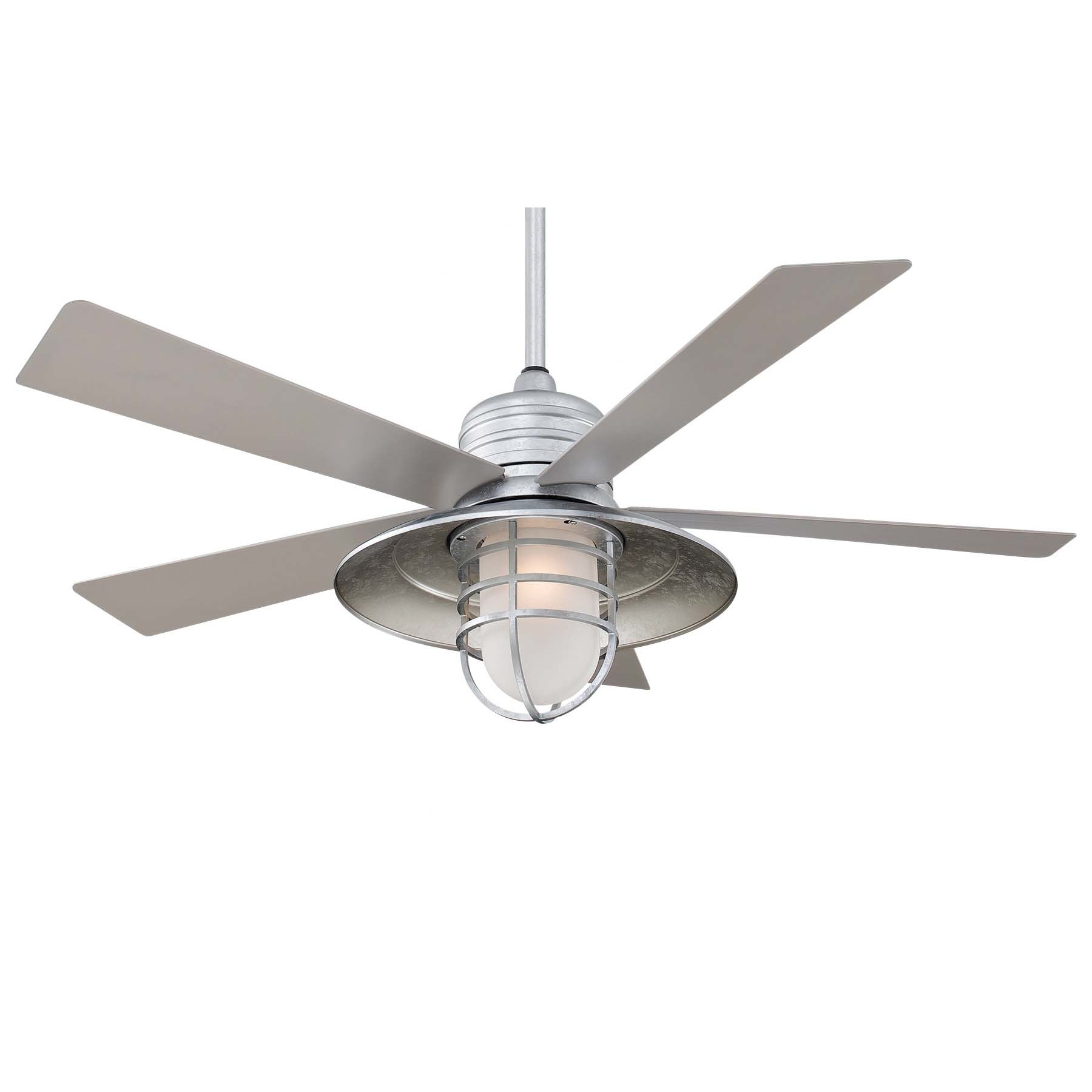 Favorite 42 Wayfair Ceiling Fans, Minka Aire 54Quot; Rainman 5 Blade Indoor Within Wayfair Outdoor Ceiling Fans With Lights (View 5 of 20)