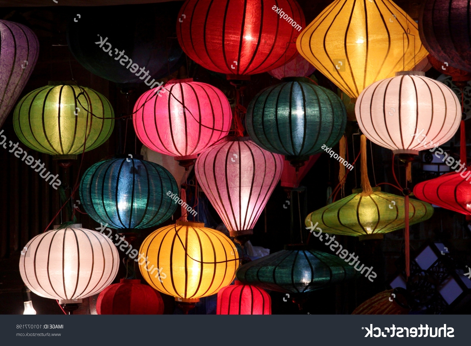Favorite Beautiful Vietnamese Lanterns Night Hoi An Stock Photo (Edit Now With Regard To Outdoor Vietnamese Lanterns (View 5 of 20)