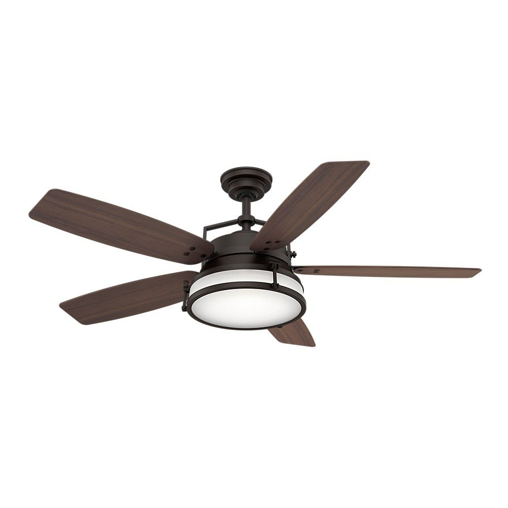 """Favorite Casablanca Fan Company 59360 Caneel Bay 56"""" Ceiling Fan With Light Regarding Casablanca Outdoor Ceiling Fans With Lights (View 16 of 20)"""