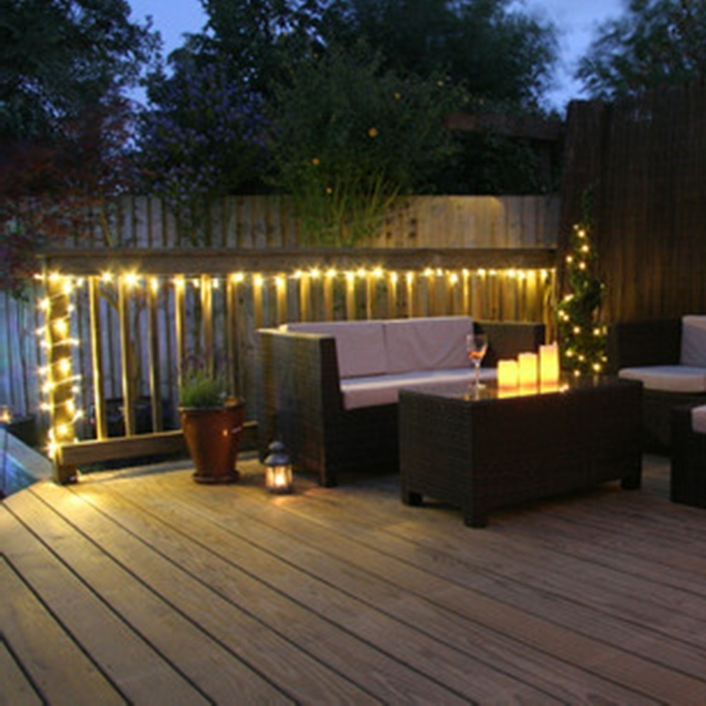 Favorite Fascinating String Lights For Deck Ideas Best Way Hangr And On In Outdoor Lanterns For Deck (View 4 of 20)