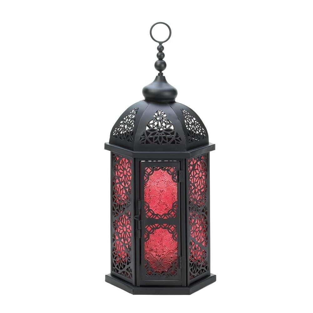 Favorite Moroccan Lantern Lamp, Large Decorative Outdoor Lanterns Table Lamp Inside Large Outdoor Lanterns (Gallery 12 of 20)