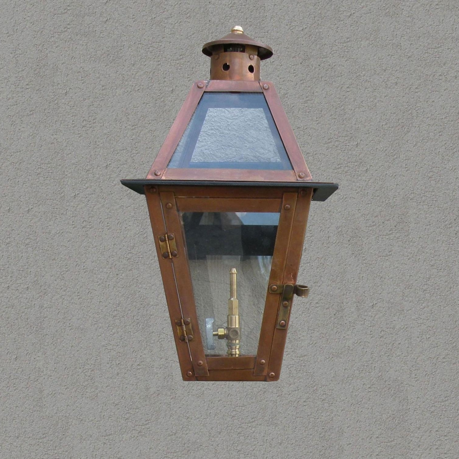 Favorite Outdoor Propane Lanterns With Regency Gl15 Chateau Propane Gas Light With Open Flame Burner And (View 15 of 20)