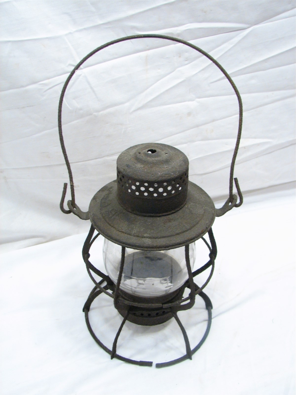 "Favorite Outdoor Railroad Lanterns Regarding Vintage Keystone ""the Casey"" Prr Railroad Train Lantern Kerosene (View 4 of 20)"