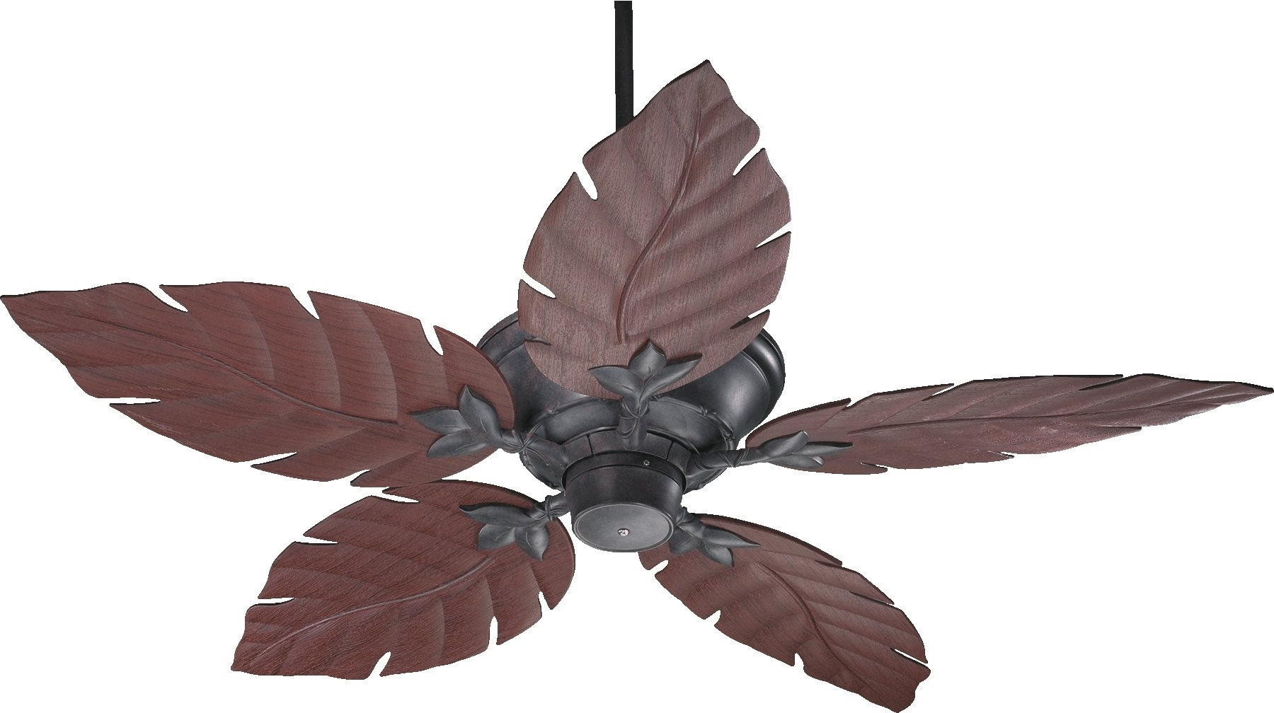 "Favorite Quorum Lighting 135525 Monaco 52"" Patio Tropical Ceiling Fan Qr 135525 Inside Quorum Outdoor Ceiling Fans (View 6 of 20)"